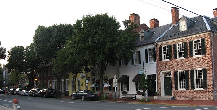 Historicdowntown Fredericksburg Va Old Dominion Chimneys