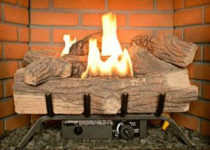 Gas Logs Need Maintenance Image - Harrisonburg VA - Old Dominion Chimneys