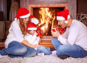 Fireplace Over The Holidays - Harrisonburg VA - Old Dominion Chimneys